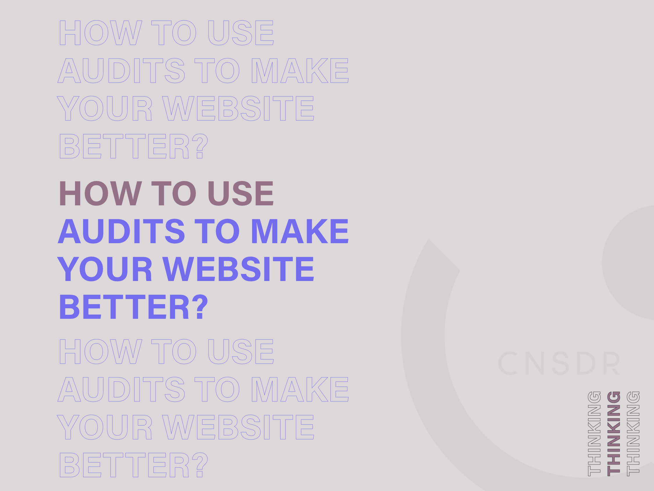 how to use website audits to make your website better
